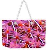 Cactus Pattern 2 Pink Weekender Tote Bag by Amy Vangsgard