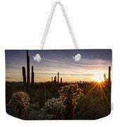 Cactus Sunset  Weekender Tote Bag