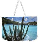 Cactus Trunk Bay  Virgin Islands Weekender Tote Bag