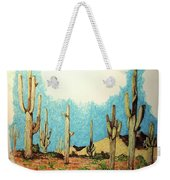 Cactus With A 'tude Weekender Tote Bag