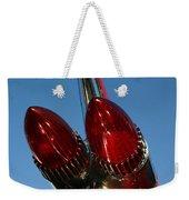 Caddie Lights Weekender Tote Bag