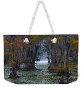 Caddo Lake Morning Weekender Tote Bag