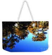 Caddo Lake Reflections Weekender Tote Bag