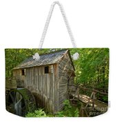 Cades Cove Grist Mill Closeup Weekender Tote Bag
