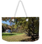 Cades Cove House And Fall Colors Weekender Tote Bag