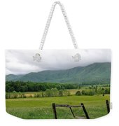 Cades Cove Mountains 1 Weekender Tote Bag