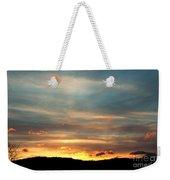 Cades Cove Sunset Weekender Tote Bag