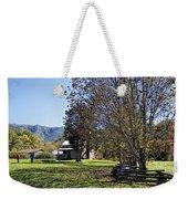 Cades Cove Tennessee Fall Scene Weekender Tote Bag