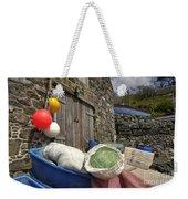 Cadgwith Fishing Paraphernalia  Weekender Tote Bag