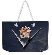 Cadillac Crest Weekender Tote Bag