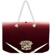 Cadillac Emblem And Hood Ornament Weekender Tote Bag