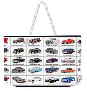 Cadillac La Salle Automotive Poster Weekender Tote Bag