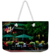 Cafe Alfresco Weekender Tote Bag
