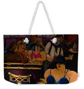 Cafe Bar In Montmartre Weekender Tote Bag