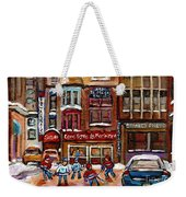 Cafe Bistro La Marinara Weekender Tote Bag