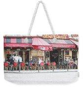 Cafe Conti Weekender Tote Bag