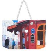 Cafe Des Musees Paris Weekender Tote Bag