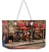 Cafe - Hoboken Nj - Cafe Trinity  Weekender Tote Bag