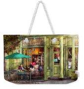 Cafe - Hoboken Nj - Empire Coffee And Tea Weekender Tote Bag