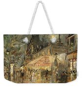 Cafe La Marin. Paris Weekender Tote Bag