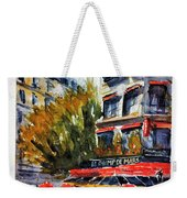 Cafe Le Champ De Mars Weekender Tote Bag