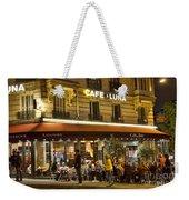 Cafe Luna Weekender Tote Bag