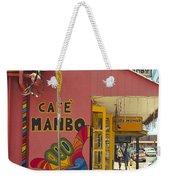 Cafe Mambo Paia Maui Hawaii Weekender Tote Bag