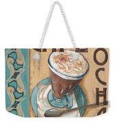 Cafe Nouveau 1 Weekender Tote Bag by Debbie DeWitt