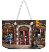 Cafe - The Italian Bakery Weekender Tote Bag by Mike Savad