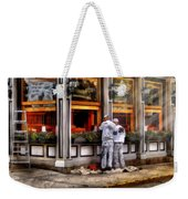 Cafe - The Painters Weekender Tote Bag by Mike Savad