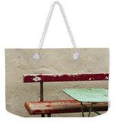 Cafeteria Weekender Tote Bag by Margie Hurwich