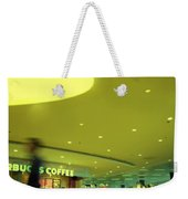 Caffe On The Fly Weekender Tote Bag