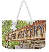 Caffee Grocery Weekender Tote Bag