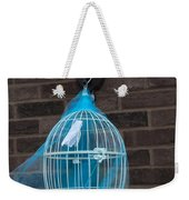 Cage On A Wall Weekender Tote Bag