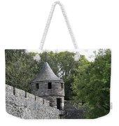 Cahir Castle Wall And Tower Weekender Tote Bag
