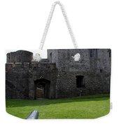 Cahir Castle Yard Weekender Tote Bag