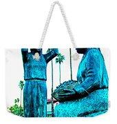 Cahuilla Women Sculpture In Palm Springs-california  Weekender Tote Bag