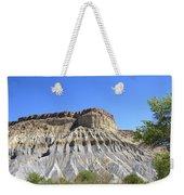 Caineville Mesa Utah Weekender Tote Bag