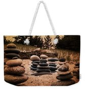 Cairn Whitefish Point Michigan Weekender Tote Bag