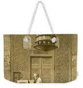 Cairo Funerary Or Sepuchral Mosque Weekender Tote Bag by Emile Prisse d'Avennes