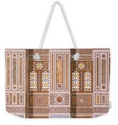 Cairo Interior Of The Mosque Weekender Tote Bag