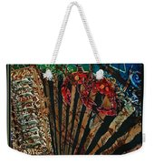 Cajun Accordian - Bordered Weekender Tote Bag