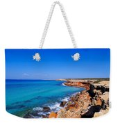 Cala Saona On Formentera Weekender Tote Bag