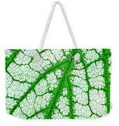 Caladium Leaf  Weekender Tote Bag