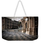 Calahorra Cathedral And Palace Weekender Tote Bag