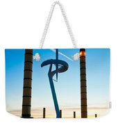 Calatrava Tower - Barcelona Weekender Tote Bag