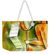 Calculation Weekender Tote Bag by Leon Zernitsky