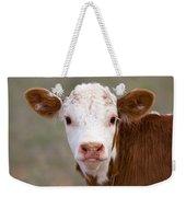 Calf Portrait Weekender Tote Bag