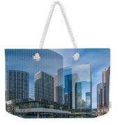 Calgary Glass Weekender Tote Bag