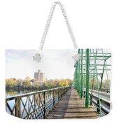 Calhoun Street Bridge Walkway Weekender Tote Bag
